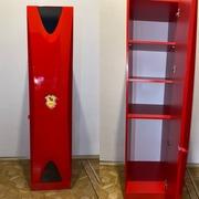 Продаю детский шкаф красный б/у
